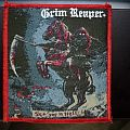Grim Reaper - Patch - Grim Reaper 'See You In Hell' woven patch.