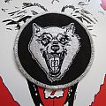 The Shrine wolfie circle patch