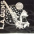 LA GUNS wall banner vintage Other Collectable