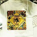 D.R.I. - thrash zone white T-shirt