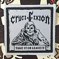 Crucifixion: Take It or Leave It Woven Patch