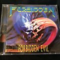 Forbidden: Forbidden Evil+Live Evil CD