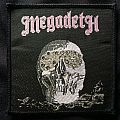 Megadeth: Killing is My Business Woven Patch