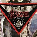 Saxon: Wheels of Steel Woven Patch