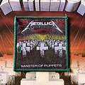 Metallica Master of Puppets Green Border Woven Patch