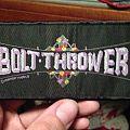 Bolt Thrower - Patch - Bolt Thrower Strip Patch