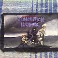 Patch - Demolition Hammer - Epidemic of Violence handmade painted backpatch