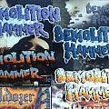 Demolition Hammer - Patch - Demolition Hammer Backshapes