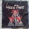 Patch - Watchtower - Energetic Disassembly handmade painted patch