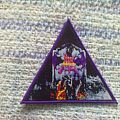 Patch - Dark Angel - Darkness Descends triangle bootleg patch