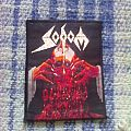 Patch - Sodom - Obsessed by cruelty woven patch
