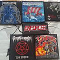 Flotsam & Jetsam, Onslaught, Stormwarrior, Enforcer, Resurrection and Vendetta patches