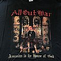 All Out War - TShirt or Longsleeve - All Out War assassins in the house of god XL