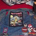 back of battle vest.... Battle Jacket