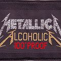 Alcohlica 100° Proof Patch