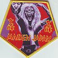 Maiden Japan Patch