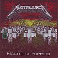 Master Of Puppets  without borders and back Patch
