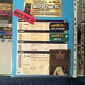 Gig´s and Festival Tix Collection -2012-
