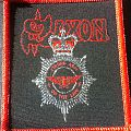 SAXON - Strong Arm of the Law Vintage Patch