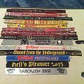 Iron Maiden - Other Collectable - Collected Festival Wristbands