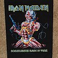 Patch - Iron Maiden Somewhere Back In Time backpatch