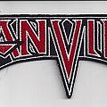 Anvil - cut out logo patch