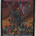 Iron Maiden - Patch - Iron Maiden - Maiden England '88