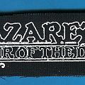 Nazareth - Patch - Nazareth patch and vinyl