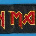 Iron Maiden - Patch - Iron Maiden red strip
