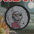 Iron Maiden - Patch - Round Iron Maiden patch