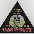 Iron Maiden - Patch - Iron Maiden 1984-1985 World Slavery Tour patch