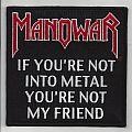 Manowar - Patch - Manowar Friend patch