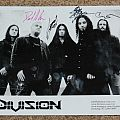 Division - Other Collectable - Division promo shot/set list