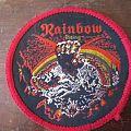 "Rainbow ""Rising"" circle patch"