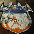 "Heavy Load ""Death or Glory"" silver border patch"
