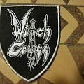"Witch Cross ""Fit For Fight"" Pic Disc Patch 1/100"