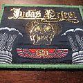 vintage Judas Priest green border Sin after Sin patch