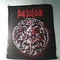 Deicide - Patch - Deicide Trifixion patch 1990