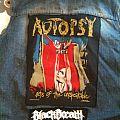 Autopsy - Battle Jacket - Dödsmetall kutte