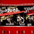 The Casualties - Other Collectable - The Casualties - signed DVD insert