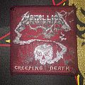 Metallica - Patch - Metallica - Creeping Death red border