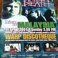 Napalm Death - Other Collectable - Live in Malaysia poster