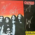 Extreme aggression LP signed Tape / Vinyl / CD / Recording etc