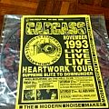 Carcass - Other Collectable - Heartwork flyers 1993 melbourne