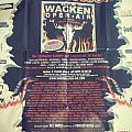 Wacken 1999 poster Other Collectable
