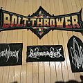 Death Metal Patches and Backpatch Bolt Thrower