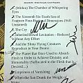 Demilich - signed setlist Other Collectable