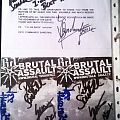 """Pete """"Commando"""" Sandoval - """"thank you"""" card  Other Collectable"""