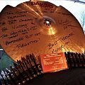 """Bolt Thrower - 18"""" Paiste Power Crash Cymbal- signed Other Collectable"""