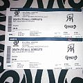 Death To All + Gorguts - 2x Tickets Other Collectable